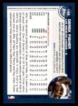 2002 Topps #133  Derek Fisher  Back Thumbnail