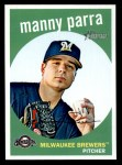 2008 Topps Heritage #634  Manny Parra  Front Thumbnail