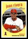 2008 Topps Heritage #636  Juan Rivera  Front Thumbnail