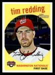 2008 Topps Heritage #637  Tim Redding  Front Thumbnail