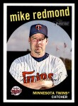 2008 Topps Heritage #639  Mike Redmond  Front Thumbnail