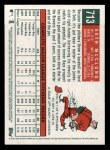 2008 Topps Heritage #713  Seth McClung  Back Thumbnail
