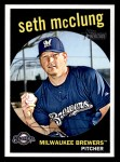 2008 Topps Heritage #713  Seth McClung  Front Thumbnail