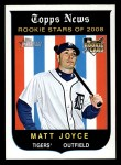 2008 Topps Heritage #718  Matt Joyce  Front Thumbnail