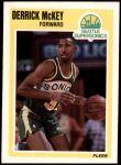 1989 Fleer #149  Derrick McKey  Front Thumbnail