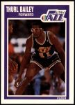 1989 Fleer #151  Thurl Bailey  Front Thumbnail