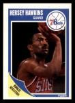 1989 Fleer #117  Hersey Hawkins  Front Thumbnail