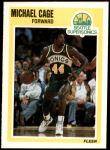 1989 Fleer #145  Michael Cage  Front Thumbnail