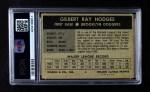 1954 Wilson Franks  Gil Hodges  Back Thumbnail