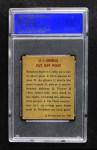 1948 Bowman #5   Single Cut Off Post Play Back Thumbnail