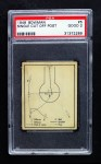 1948 Bowman #5   Single Cut Off Post Play Front Thumbnail
