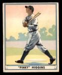 1941 Play Ball #35  Pinky Higgins   Front Thumbnail