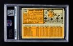 1963 Topps #210  Sandy Koufax  Back Thumbnail