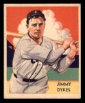1935 Diamond Stars #42  Jimmy Dykes   Front Thumbnail