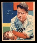 1935 Diamond Stars #57  Cy Blanton   Front Thumbnail