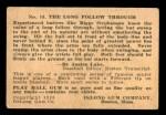 1933 DeLong Gum R333 #15  Riggs Stephenson  Back Thumbnail