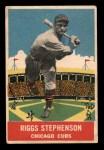 1933 DeLong Gum R333 #15  Riggs Stephenson  Front Thumbnail