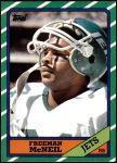 1986 Topps #96  Freeman McNeil  Front Thumbnail