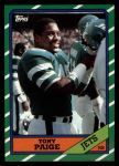 1986 Topps #97  Tony Paige  Front Thumbnail