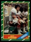 1986 Topps #164  Jeff Stover  Front Thumbnail
