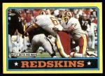 1986 Topps #170   -  George Rogers / Art Monk / Vernon Dean / Curtis Jordan / Dexter Manley  Washington Redskins Leaders Front Thumbnail
