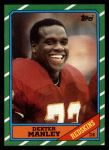 1986 Topps #180  Dexter Manley  Front Thumbnail