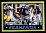 1986 Topps #200   -  Curt Warner / Steve Largent / John Harris / Jacob Green / Fredd Young Seahawks Leaders Front Thumbnail