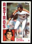 1984 Topps #301  Frank LaCorte  Front Thumbnail