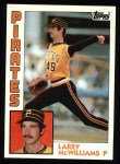 1984 Topps #668  Larry McWilliams  Front Thumbnail