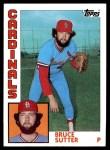 1984 Topps #730  Bruce Sutter  Front Thumbnail