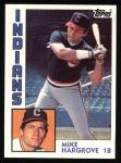 1984 Topps #764  Mike Hargrove  Front Thumbnail