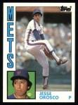 1984 Topps #54  Jesse Orosco  Front Thumbnail