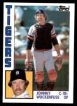 1984 Topps #119  John Wockenfuss  Front Thumbnail