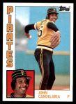1984 Topps #330  John Candelaria  Front Thumbnail