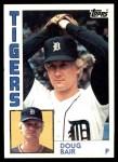 1984 Topps #536  Doug Bair  Front Thumbnail