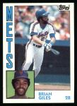 1984 Topps #676  Brian Giles  Front Thumbnail