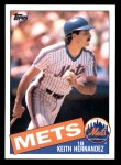 1985 Topps #80  Keith Hernandez  Front Thumbnail