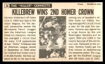 1964 Topps Giants #38  Harmon Killebrew   Back Thumbnail