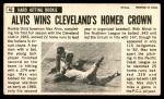 1964 Topps Giants #46  Max Alvis   Back Thumbnail