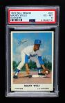 1962 Bell Brand Dodgers #30  Maury Wills  Front Thumbnail