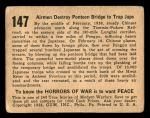 1938 Horrors of War #147   Airmen Destroy Pontoon Bridge to Trap Japs Back Thumbnail