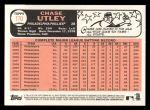 2015 Topps Heritage #170  Chase Utley  Back Thumbnail