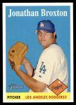 2007 Topps Heritage #191  Jonathan Broxton  Front Thumbnail