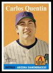 2007 Topps Heritage #193  Carlos Quentin  Front Thumbnail