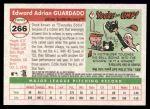 2004 Topps Heritage #266  Eddie Guardado  Back Thumbnail