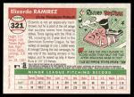 2004 Topps Heritage #321  Elizardo Ramirez  Back Thumbnail