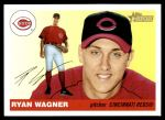 2004 Topps Heritage #361 NEW Ryan Wagner   Front Thumbnail
