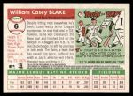 2004 Topps Heritage #6  Casey Blake  Back Thumbnail