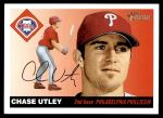 2004 Topps Heritage #19  Chase Utley  Front Thumbnail