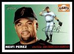 2004 Topps Heritage #285  Neifi Perez  Front Thumbnail
